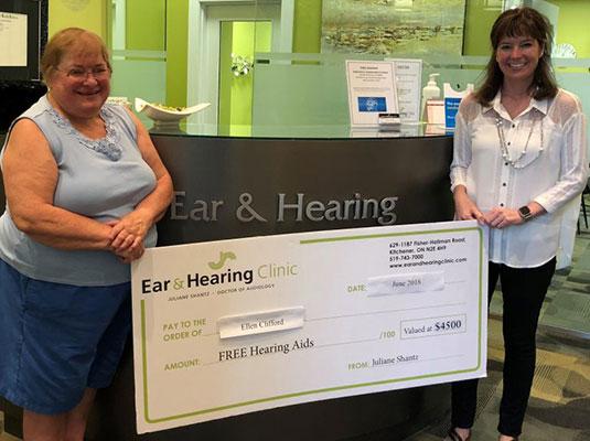 Ellen Clifford 2018 Gift of Hearing Winner