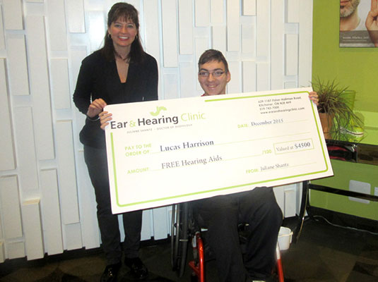 Lucas Harrison 2015 Gift of Hearing Winner